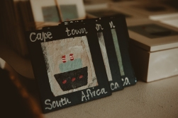 magnets Cape Town South Africa made of recycled tea bags