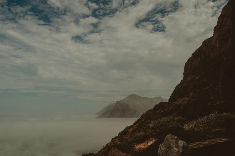 Hout Bay as seen from Chapman's Peak Drive
