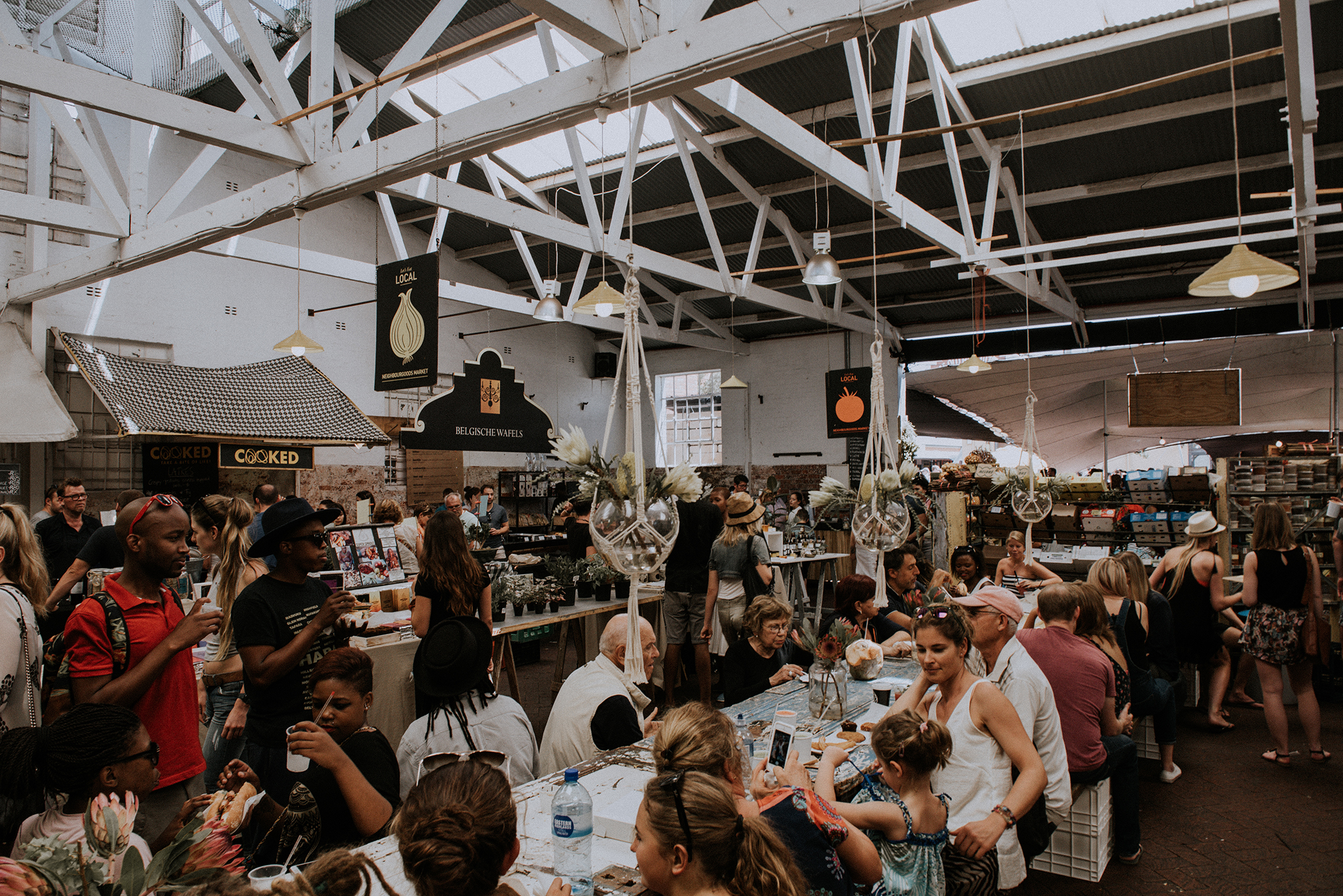 Food market Old Biscuit Mill by Polina Ilieva Photography