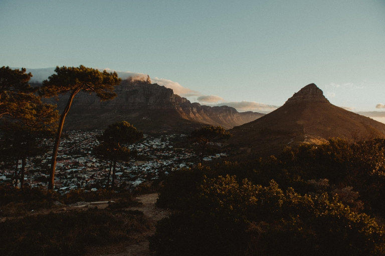 Lion's Head from Signal Hill by Polina Ilieva Photography